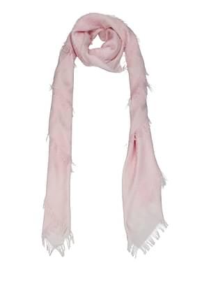 Burberry Scarves Women Silk Pink Alabaster