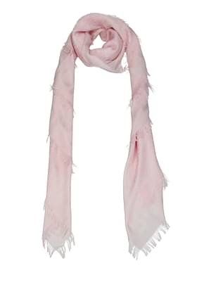 Burberry Scarves Women Silk Pink Alabaster