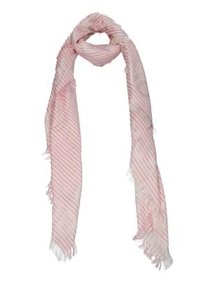Burberry Foulard Women Silk Pink Peony