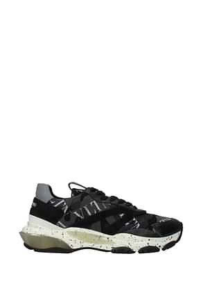 Valentino Garavani Sneakers vltn Men Fabric  Black