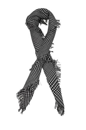 Christian Dior Scarves Men Wool Black