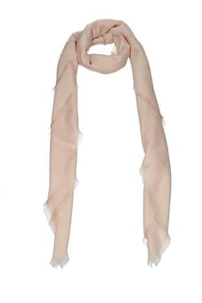 Loewe Scarves Women Wool Pink Powder Pink