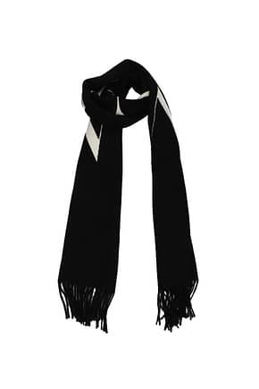 Valentino Garavani Scarves Men Cashmere Black