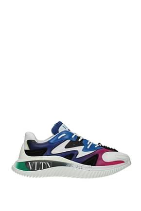 Valentino Garavani Sneakers Men Fabric  Multicolor