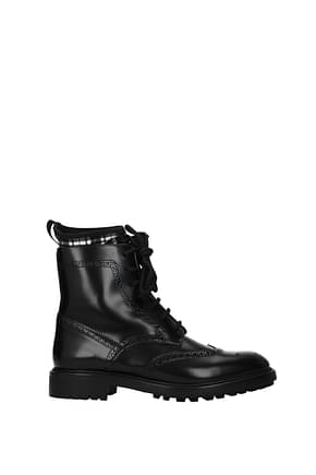 Christian Dior Ankle boots d order Women Leather Black