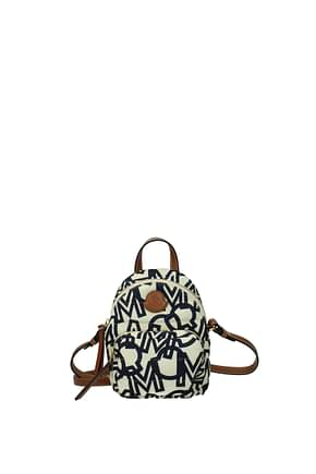Moncler Handbags kilia Women Fabric  Beige Brown
