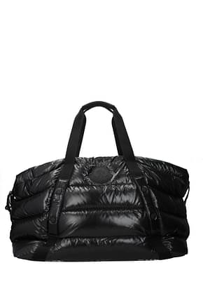 Moncler Travel Bags maine Women Fabric  Black