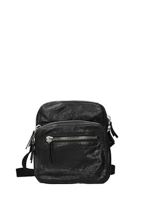 Valentino Garavani Crossbody Bag Men Leather Black