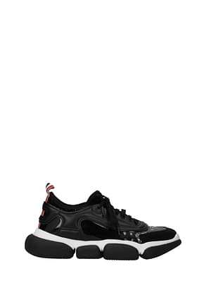 Moncler Sneakers briseis Women Patent Leather Black