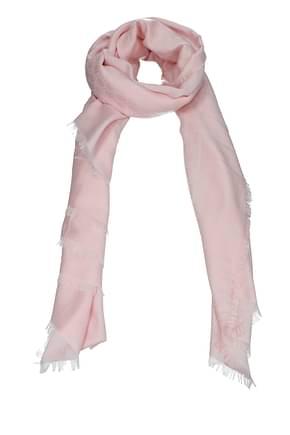 Gucci Foulard Women Cotton Pink Powder Pink