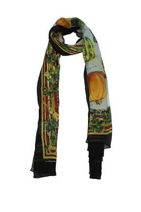 Dolce&Gabbana Foulard Women Silk Multicolor