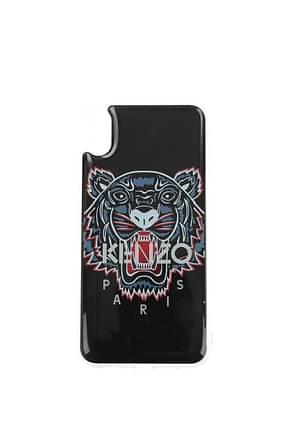 Kenzo Iphone Taschen xs max Herren PVC Schwarz