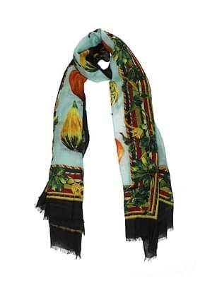 Dolce&Gabbana Foulard Women Cashmere Multicolor