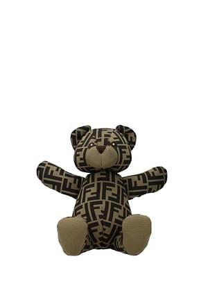Fendi Gift ideas orsetto kids Women Fabric  Brown Dark Brown