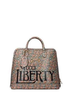 Gucci Handbags liberty Women Leather Multicolor