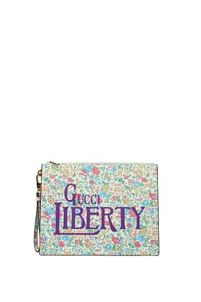 Gucci Clutches liberty Women Leather Multicolor