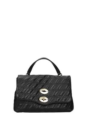 Zanellato Handbags postina s zeta Women Leather Black Black