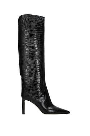 Jimmy Choo Boots mavis Women Leather Black