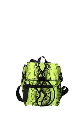 Off-White Backpacks and bumbags Women Nylon Yellow Fluo Yellow