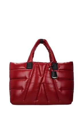 Moncler Shoulder bags Women Fabric  Red Hydrangea