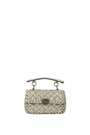 Valentino Garavani Handbags Women Satin Beige