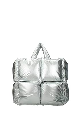 Off-White Handbags Women Fabric  Silver