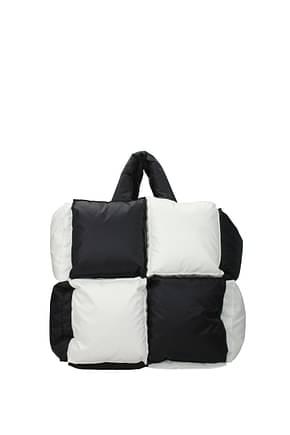 Off-White Handbags Women Fabric  Black White