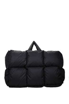 Off-White Travel Bags Women Fabric  Black