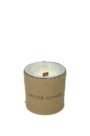 Jacob Cohen Gift ideas handmade scented soy candle Women Pony Skin Beige Beige