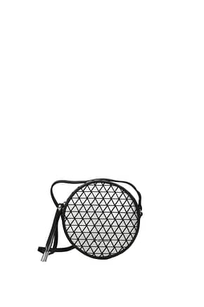 Pollini Crossbody Bag Women Polyurethane Silver