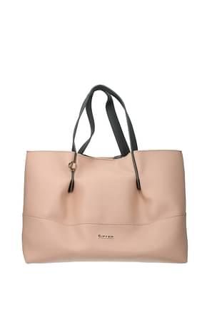 Pollini Handbags Women Polyurethane Pink Grey