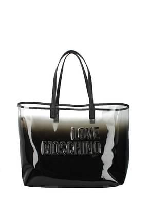 Love Moschino Shoulder bags Women PVC Black Black