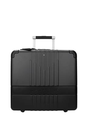 Mont Blanc Wheeled Luggages pilota my 4810 33l Men Polycarbonate Black