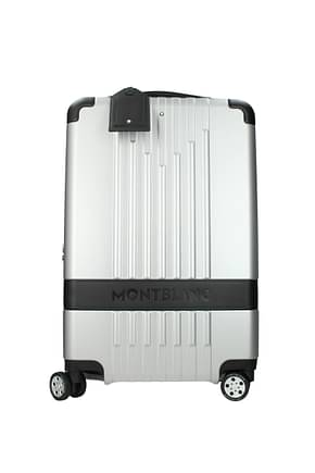 Mont Blanc Wheeled Luggages cabin my4810 37l Men Polycarbonate Silver