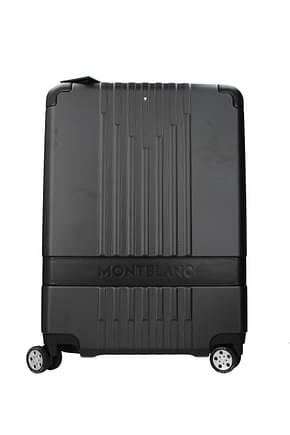Mont Blanc Wheeled Luggages cabin 37l Men Polycarbonate Black