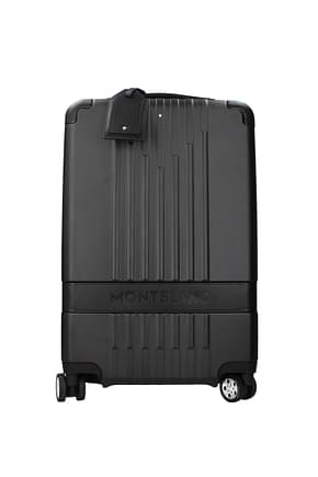 Mont Blanc Wheeled Luggages my4810 Men Polycarbonate Black