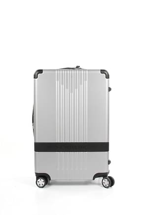 Montblanc Wheeled Luggages my4810 Men Polycarbonate Silver Black