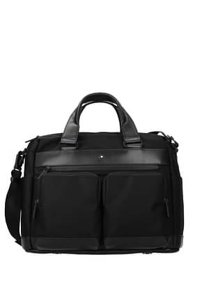 Montblanc Work bags Men Fabric  Black