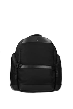 Montblanc Backpack and bumbags nightflight Men Fabric  Black