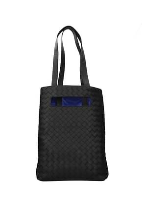 Bottega Veneta Shoulder bags Men Leather Black