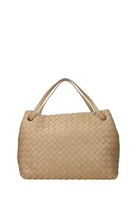 Bottega Veneta Handbags garda Women Leather Pink Powder Pink