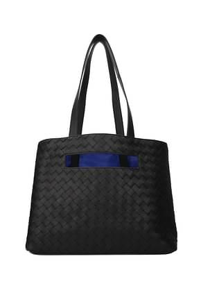 Bottega Veneta Shoulder bags slot Men Leather Black
