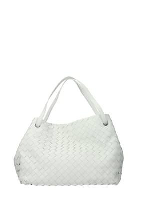 Bottega Veneta Handbags garda Women Leather White Off White