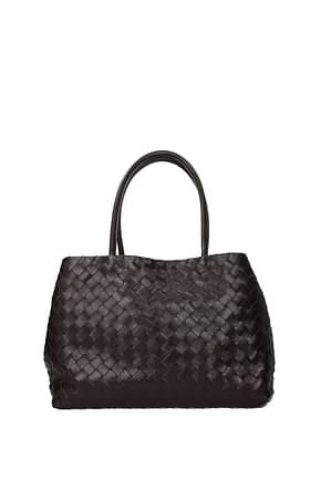 Bottega Veneta Shoulder bags Women Leather Brown Dark Chocolate