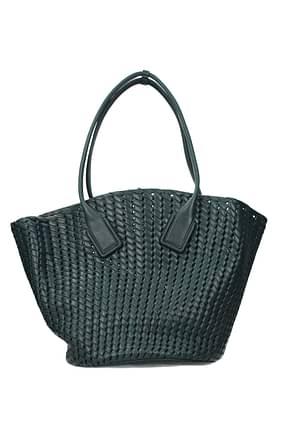 Bottega Veneta Shoulder bags Women Leather Green Emerald
