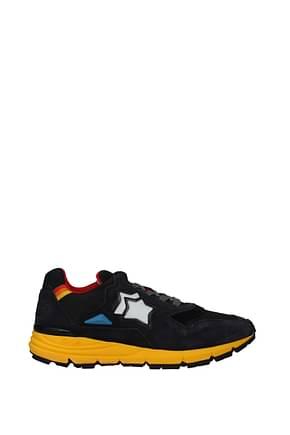 Atlantic Stars Sneakers polaris Uomo Tessuto Grigio Antracite
