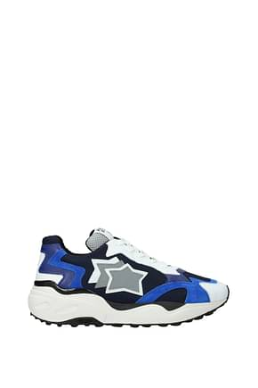 Atlantic Stars Sneakers centaur Men Fabric  Blue Blue Navy