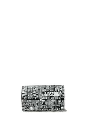 Love Moschino Clutches Women Polyurethane Black