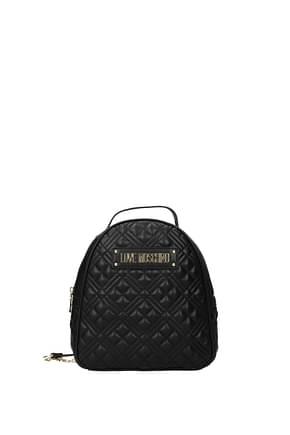 Love Moschino Backpacks and bumbags Women Polyurethane Black