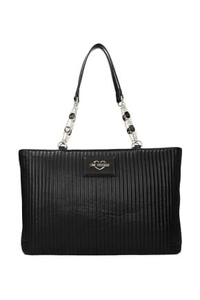 Love Moschino Shoulder bags Women Polyurethane Black